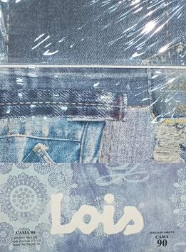 Sabanas Lois 90 cm. Vaquero azul
