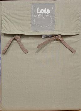 Sabanas Lois 150 cm. alta calidad 100% algodón . Marengo