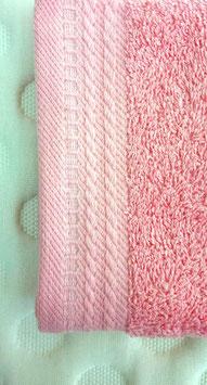 Toallas 100% algodón Peinado 600grs/m. Color Rosa. 4 medidas disponibles.