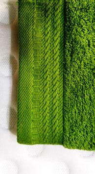 Toallas 100% algodón Peinado 600grs/m. Color Verde. 4 medidas disponibles.