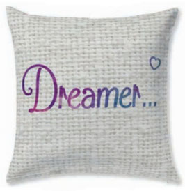 Funda cojin algodón 60x60 Dreamer