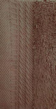 Toallas 100% algodón Peinado 600grs/m. Color Marrón. 4 medidas disponibles.