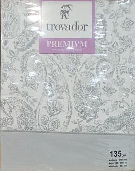 Sabanas Trovador 135 cm. color Gris