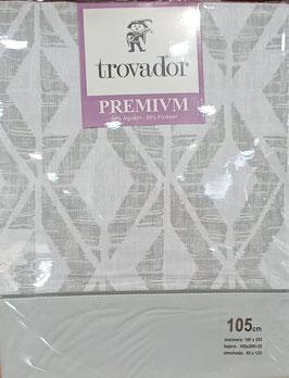 Sabanas Trovador 105 cm. color Gris
