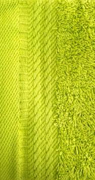 Toallas 100% algodón Peinado 600grs/m. Color Lima. 4 medidas disponibles.
