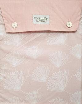 Sabanas Trovador 180 cm.  50/50 algodon/poliester. Color rosa asalmonado