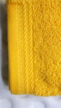 Toallas 100% algodón Peinado 600grs/m. Color Mostaza. 4 medidas disponibles.