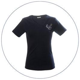Engelsgleich T-Shirt | dunkelblau