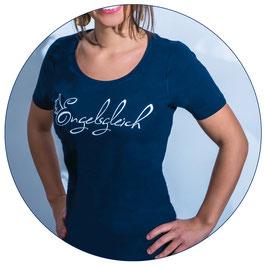 Engelsgleich Fan T-Shirt | marine blau