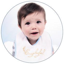 Engelsgleich Babylätzchen | blau