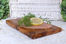 Räucherbrett eckig (ca. 25 x 15 cm) aus Olivenholz