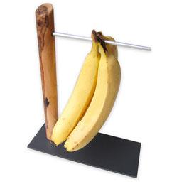 Bananenhalter aus Olivenholz