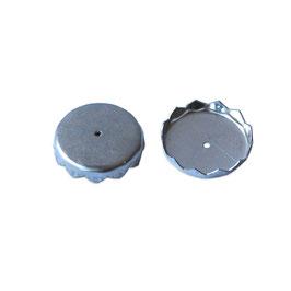 2 x Ersatzplättchen für Magnetseifenhalter