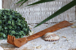 Rückenkratzer & Schuhanzieher aus Olivenholz