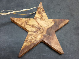 Stern zum Hängen am Weihnachtsbaum