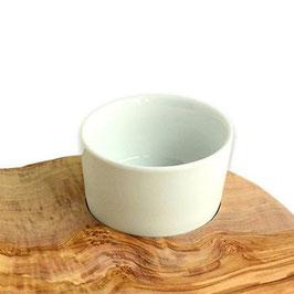 Ersatz-Schälchen ELEGANT aus weißem Porzellan