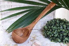 Schöpfkelle für Küche & Sauna aus Olivenholz 25 cm