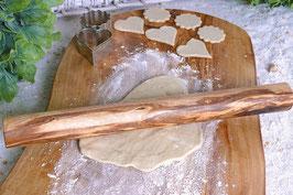 Teigroller / Nudelholz DESIGN (25 cm/ø 3 cm) aus Olivenholz