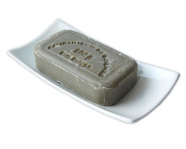 Seifenablage PORZELLAN PUR mit Antirutsch-Füßchen