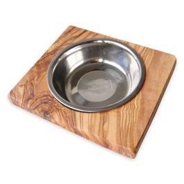 Futternapf LUCKY (0,2 l-Metallschale) für Hunde & Katzen