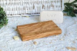 Seifenablage mit RILLEN und Pads auf der Unterseite