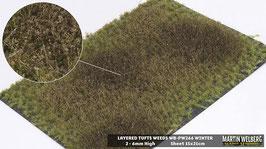 Weeds WB-PW266 Winter jeweils per Stck. 15x21cm von 2-6mm Hoch
