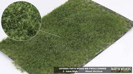 Weeds WB-PW262 Summer jeweils pro Stck. 15x21cm von 2-6mm Hoch