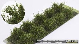 WB-SDG yellow Flowers je 10 Stck. 20-30mm Hoch