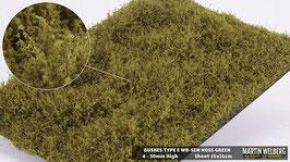 WB-SEM moss Green Stck. 15x21cm jeweils 4-30mm Hoch