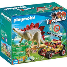 9432 Forschermobil mit Stegosaurus