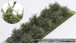 WB-SDL lavender Flowers je 10 Stck. 20-30mm Hoch