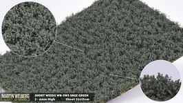 WB-SWS sage Green jeweils pro Stck. 21x15cm und 2-6mm Hoch