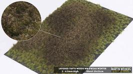 Weeds WB-PW246 Winter jeweils pro Stck. 15x21cm und 2-4.5mm Hoch