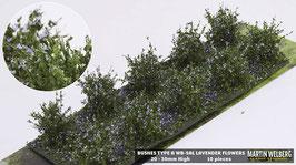 WB-SAL lavender Flowers 10 Stck. 20-30mm Hoch
