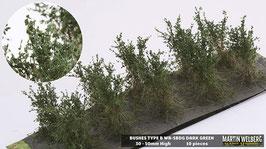 WB-SBDG dark Green je 10 Stck. 30-50mm Hoch