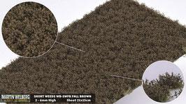 WB-SWFB fall Brown jeweils pro Stck. 21x15cm und 2-6mm Hoch