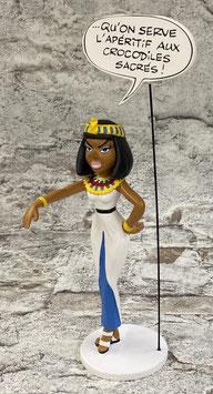 "Kleopatra ""Serviert den Krokodilen den Aperitif"""