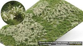 WB-PS242 jeweils sand Flowers davon Stck. 15x21cm von 2-4.5mm Hoch
