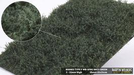 WB-SFHG hazy Green Stck. 15x21cm jeweils 2-22mm Hoch