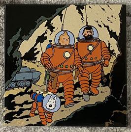 """Tim & Struppi """"Auf dem Mond"""""""
