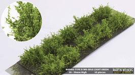 WB-SDLG light Green je 10 Stck. 20-30mm Hoch