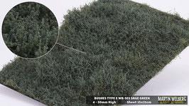 WB-SES sage Green Stck. 15x21cm jeweils 4-30mm Hoch