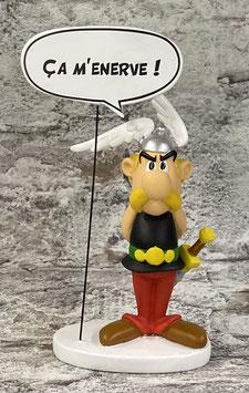 Asterix ärgert sich !