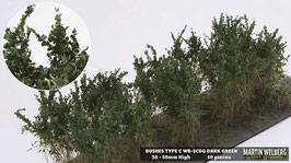 WB-SCDG dark Green je 10 Stck. 30-50mm Hoch
