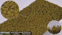 WB-SWAG autumn Gold jeweils pro Stck. 21x15cm und 2-6mm Hoch