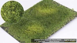 Weeds WB-PW261 Spring jeweils per Stck. 15x21cm von 2-6mm Hoch