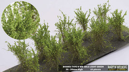 WB-SBLG light Green je 10 Stck. 30-50mm Hoch