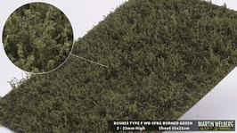 WB-SFBG burned Green Stck. 15x21cm 2-22mm Hoch