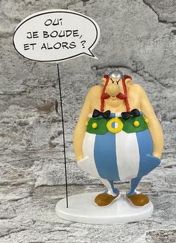 Obelix schmolt !