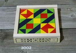 3002  Klötzlimosaik 25-teilig
